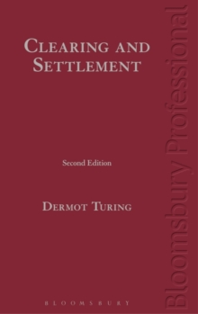 Clearing and Settlement, Hardback Book