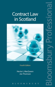 Contract Law in Scotland, Paperback / softback Book