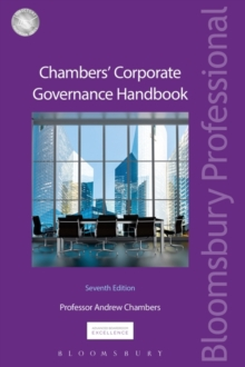 Chambers' Corporate Governance Handbook, Paperback Book