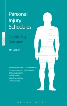 Personal Injury Schedules: Calculating Damages, Paperback Book