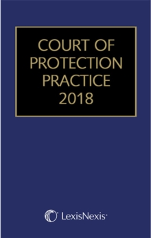 Court of Protection Practice 2018, Mixed media product Book