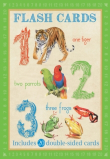 Animal Flash Cards: 123, Cards Book