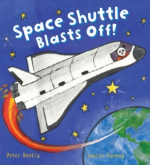Busy Wheels Space Shuttle Blasts off, Paperback Book