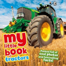 My Little Book of Tractors, Hardback Book