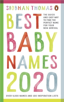 Best Baby Names 2020, Paperback / softback Book