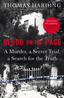 Blood on the Page, Hardback Book