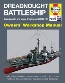 Dreadnought Battleship Manual, Hardback Book