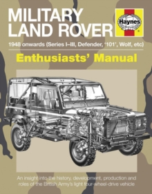 Military Land Rover Manual, Paperback Book