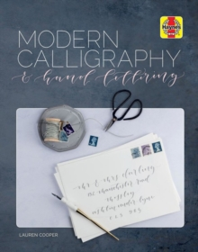 Modern Calligraphy and Hand Lettering, Hardback Book