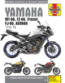 Yamaha MT-09 Service and Repair Manual : 2013-2016, Paperback Book