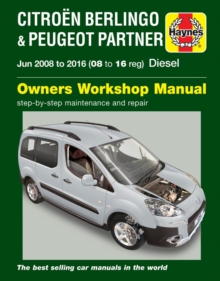 Citroen Berlingo & Peugeot Partner Diesel (June '08-'16) 08 To 16, Paperback / softback Book