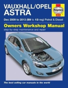 Vauxhall/Opel Astra : (Dec 09 - 13) 59 to 13 John Mead, Paperback / softback Book