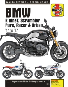 BMW R nineT ('14 to '17), Paperback / softback Book
