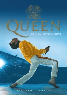 Queen Official 2019 Calendar - A3 Wall Calendar Format, Calendar Book
