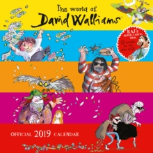 World Of Walliams Official 2019 Calendar - Square Wall Calendar Format, Calendar Book