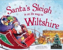 Santa's Sleigh is on it's Way to Wiltshire, Hardback Book