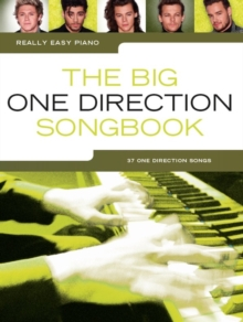 Really Easy Piano : The Big One Direction Songbook, Paperback Book