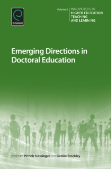Emerging Directions in Doctoral Education, Hardback Book
