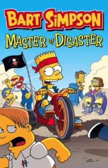 Bart Simpson : Master of Disaster, Book Book