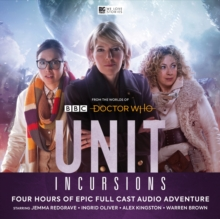UNIT - The New Series: 8. Incursions, CD-Audio Book