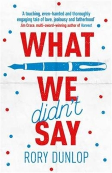 What We Didn't Say, Paperback Book