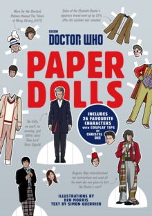 Doctor Who Paper Dolls, Paperback Book