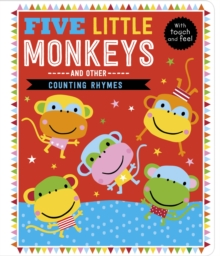 Five Little Monkeys and Other Counting Rhymes, Board book Book
