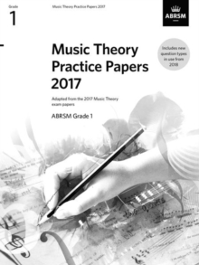 Music Theory Practice Papers 2017, ABRSM Grade 1, Sheet music Book