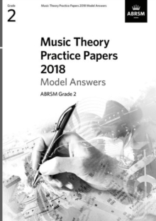 Music Theory Practice Papers 2018 Model Answers, ABRSM Grade 2, Sheet music Book