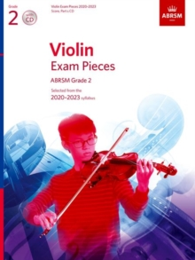 Violin Exam Pieces 2020-2023, ABRSM Grade 2, Score, Part & CD : Selected from the 2020-2023 syllabus, Sheet music Book