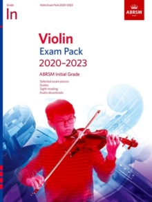 Violin Exam Pack 2020-2023, Initial Grade : Score & Part, with audio, Sheet music Book