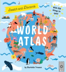 Scratch and Discover World Atlas, Hardback Book