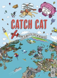 Catch Cat : Discover the world in this search and find adventure, Hardback Book