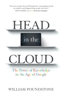 Head in the Cloud : The Power of Knowledge in the Age of Google, Paperback Book