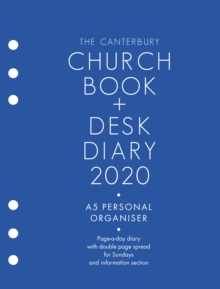 The Canterbury Church Book & Desk Diary 2020 A5 Personal Organiser Edition, Diary Book