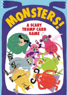 Monsters! : A Scary Trump Card Game, Cards Book