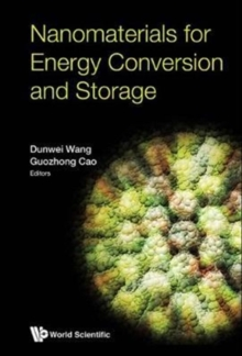 Nanomaterials For Energy Conversion And Storage, Hardback Book