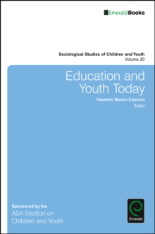 Education and Youth Today, Hardback Book