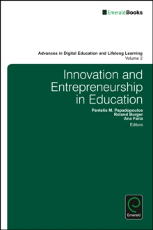 Innovation and Entrepreneurship in Education, Hardback Book