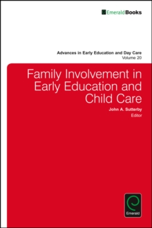 Family Involvement in Early Education and Child Care, Hardback Book