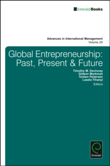 Global Entrepreneurship : Past, Present & Future, Hardback Book