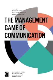 The Management Game of Communication, Hardback Book