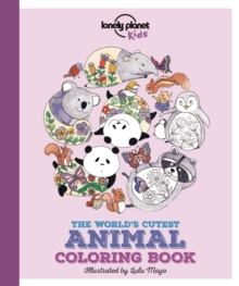 The World's Cutest Animal Colouring Book, Paperback Book