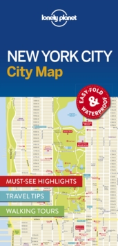 Lonely Planet New York City Map, Sheet map, folded Book
