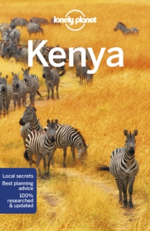 Lonely Planet Kenya, Paperback Book