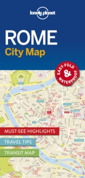 Rome City Map, Sheet map, folded Book