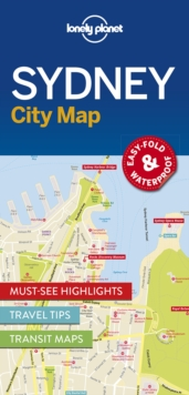 Lonely Planet Sydney City Map, Sheet map, folded Book