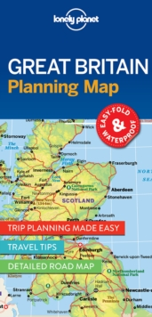 Lonely Planet Great Britain Planning Map, Sheet map, folded Book