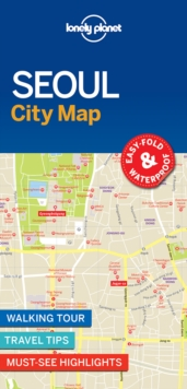 Lonely Planet Seoul City Map, Sheet map, folded Book