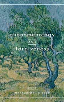 Phenomenology and Forgiveness, Hardback Book